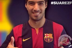 Barcelona 'goda' Suarez sebelum Piala Dunia