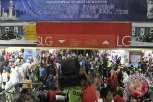 4.000 pedagang Tanah Abang bertransaksi elektronik