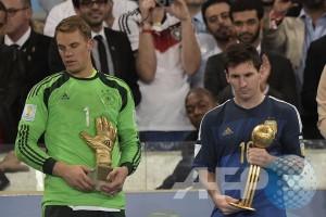 Blatter akui keliru Golden Ball diberikan pada Messi