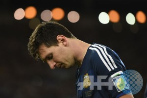Messi akan absen pada pertandingan kontra Jerman