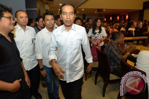 Jokowi Bertemu Relawan