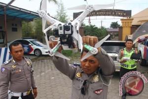 Mini Helikopter Pantau Mudik