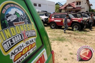 N. Sumatra govt holds samosir island off-road competition