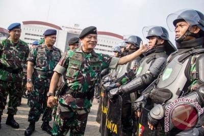 Panglima TNI perintahkan tak bawa peluru tajam