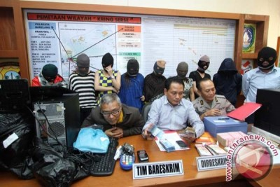 Mabes Polri bongkar judi online di Batam