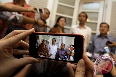 Pertemuan Jokowi-JK di Rumah Transisi