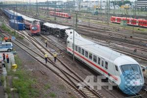 Kereta tabrak kereta di Belgia, tiga orang tewas