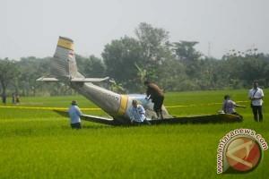 Pesawat TNI AU Jatuh