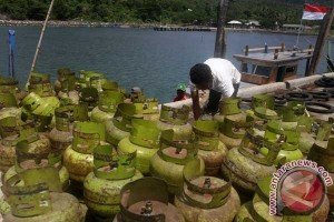 Pengangkutan Gas Elpiji Pulau