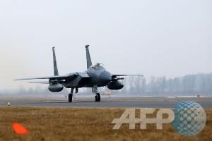 Pentagon: pesawat F-15 AS jatuh di Virginia