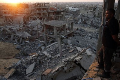 Pesawat tempur Israel serang Jalur Gaza