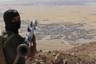 Amerika Serikat serang kelompok IS di Suriah
