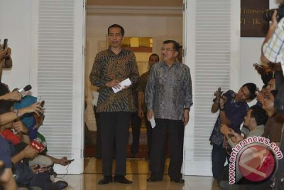 Jawaban Jokowi soal tudingan bagi-bagi kursi menteri