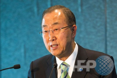 UN`s Ban Ki-moon congratulates Afghanistan`s new president, ceo on inauguration