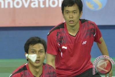 Hendra/Ahsan menang ketat pada perempat final Asia