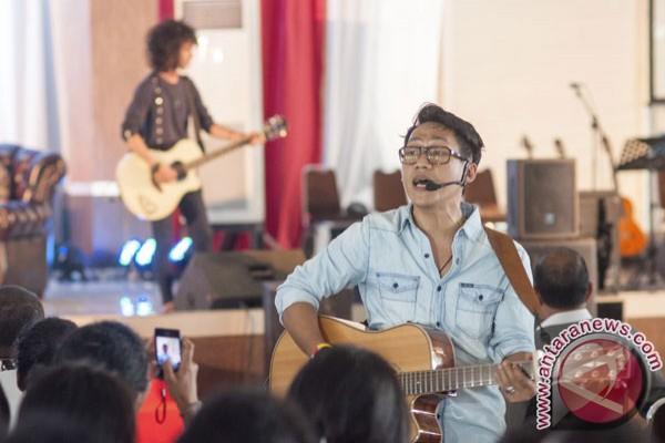 Nugie Ikut Gowes Di Jantung Borneo