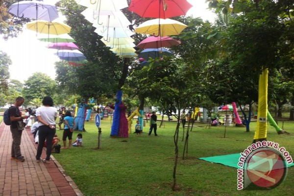 Hidden Park 2014 berbagi kegembiraan di Taman Tanjung