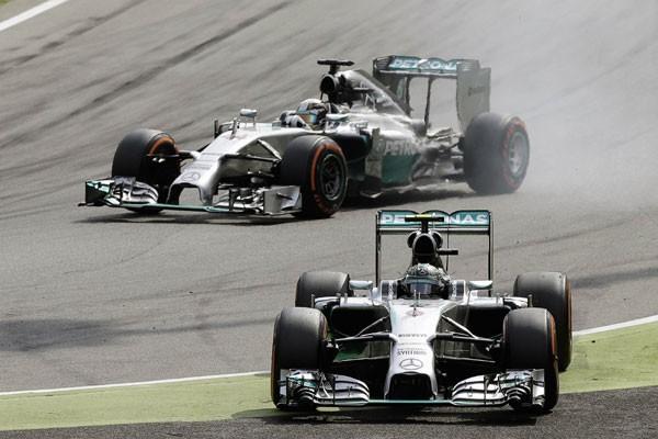 Hasil sesi latihan GP F1 Italia