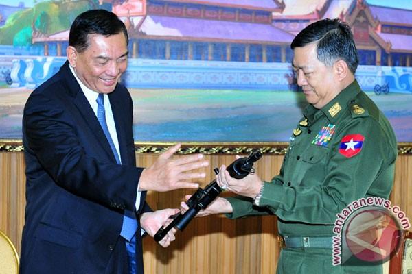 Myanmar tertarik beli alat pertahanan dari Indonesia