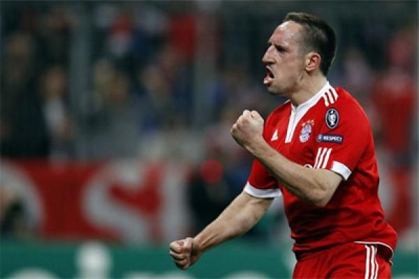 Ribery marah kepada Ancelotti saat Bayern mengalahkan Anderlecht