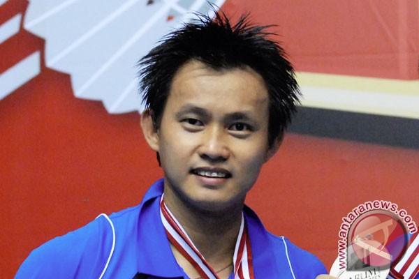 Candra Wijaya memotivasi pebulutangkis usia dini Pekanbaru