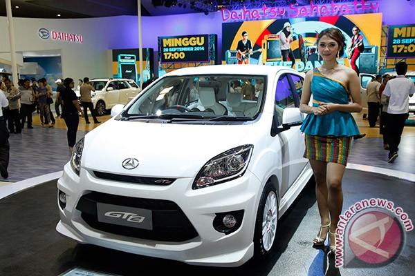 Mobil konsep Daihatsu Ayla GT2 yang ditampilkan di ajang Indonesia ...