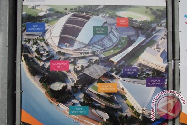 Singapura siapkan Sports Hub untuk SEA Games 2015