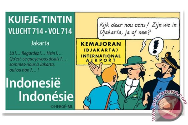 Tintin Dan Indonesia Good News From Indonesia