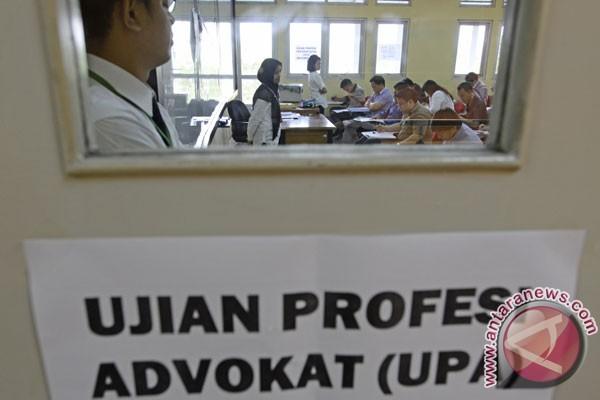 RUU Advokat tidak mengurangi minat ujian profesi