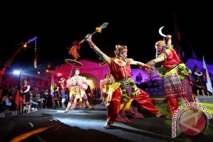 Tim kesenian Gianyar ikut meriahkan festival Yogyakarta