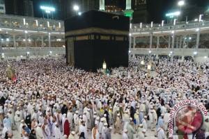 Kedatangan jamaah haji capai lebih dari 100 ribu orang