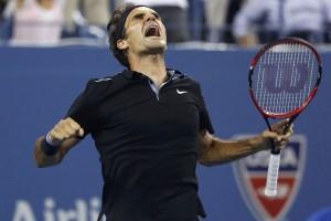 Federer ditantang Gasquet pada 8 Besar AS Terbuka