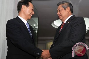 Yudhoyono receives Chinese People`s Consultative Conference Vice Chairman