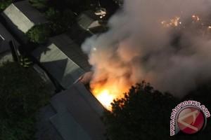 Gudang Kementerian ESDM yang terbakar berisi komputer