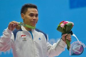 China-Kolumbia pesaing berat Eko di Olimpiade