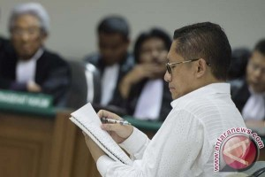 Anas yakin tidak terkait korupsi Hambalang