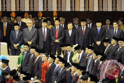 Anggota DPR RI dan DPD RI memulai debutnya