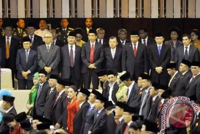 Jokowi-JK Hadiri Pelantikan DPR
