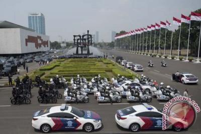 Pengamanan Pelantikan Anggota DPR