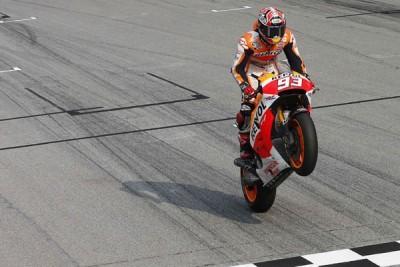 Marquez tercepat di sesi pemanasan GP Qatar