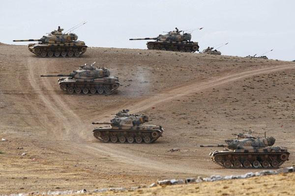 Konvoi pertama militer Turki masuki Idlib, Suriah