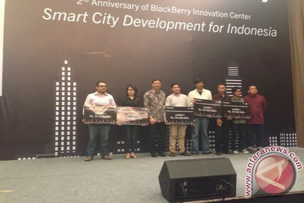 BlackBerry umumkan pemenang kompetisi Aplikasi 'Smart City'