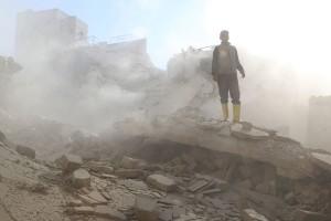 Pemantau: 506 tewas dalam serangan pasukan pemerintah di Aleppo