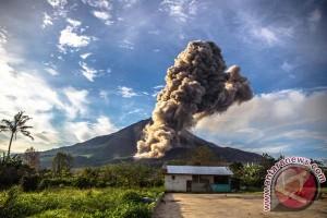Lima desa simulasi hadapi erupsi Sinabung