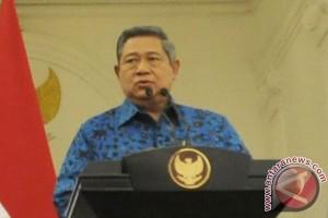 Presiden Yudhoyono harapkan pemerintahan baru lanjutkan capaian pembangunan