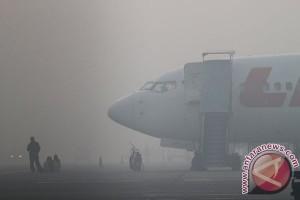 49 penerbangan Bandara Pekanbaru batal akibat asap