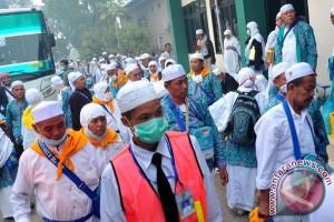 Calon haji Padang panjang berangkat 2 September