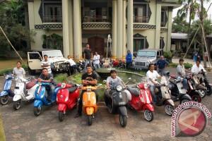 2.000 lebih pencinta scooter berkumpul di Bantaeng