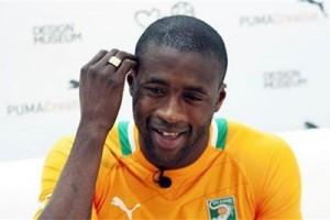 Toure favorit raih penghargaan pemain terbaik Afrika
