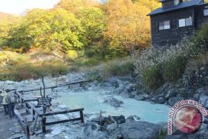 Ketagihan berendam di onsen